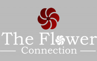 Flower connection grey logo