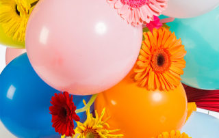 Gerbera party flowers